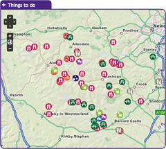Discover more in Teesdale ... with the interactive map