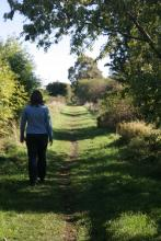 Walking the Tees Railway Path © NPAP/Shane Harris