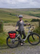 Electric biking in the East Allen Valley © NPAP/Andy Lees