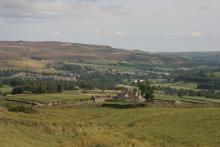 View of Stanhope in Upper Weardale © NPAP/Shane Harris