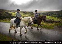 Riding the Alston Packhorse Trail © NPAP/Charlie Hedley
