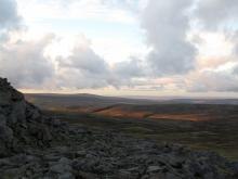View from the Pennine Way on the way to Cross Fell © NPAP/Gearoid Murphy