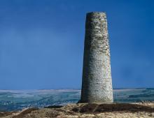 Chimney on Dryburn Moor © NPAP