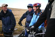 Cycling in the North Pennines © NPAP/KGPhotography