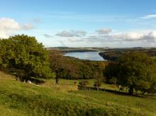 Derwent Reservoir from above Blanchland © NPAP