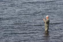Fly fisherman © NPAP/Shane Harris