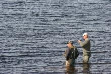 Fly fishing © NPAP/Shane Harris