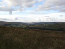 Moorland above the South Tyne Valley © NPAP/Gearoid Murphy