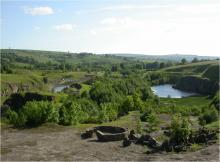 A view of Harehope Quarry © Tom Mercer