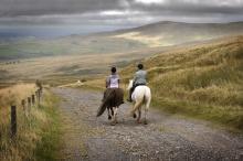 Sinderhope Pony Trekking © NPAP/Charlie Headley