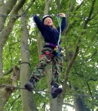 High Ropes Course © Kingsway Adventure Centre