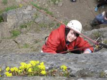 Happy climber © YMCA Weardale House