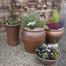 Elegant handmade pots © Errington Reay Ltd