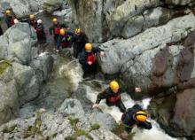 Gyhll scrambling © Eden Outdoor Adventures