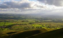Eden Valley from Murton Scar © Ron Kenyon